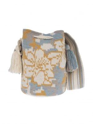 Arte y Tejido, Mochila Mimet, Chorrera, Mochila, Tejida, Knitted, Crochet, Natural Fibers, Algodón, Cotton, Fibras Naturales, Bag, Mimet